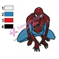 Spiderman Embroidery Design 04